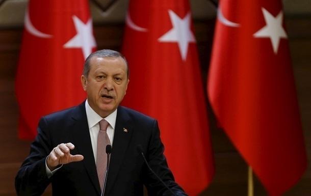 Ердоган оголосив старт військової операції в Сирії