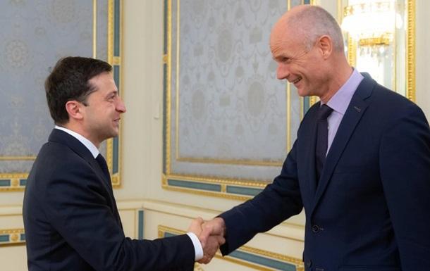 Зеленский встретился с главой МИД Нидерландов