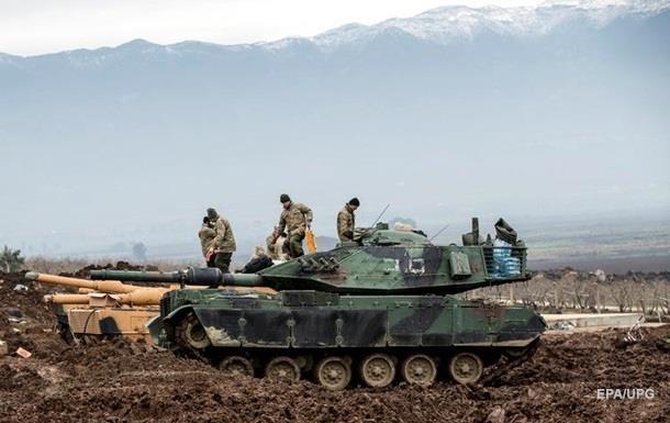 Турция продолжает продвигаться вглубь Сирии