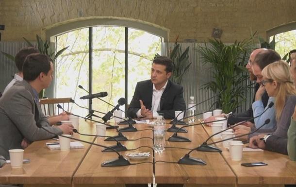 Референдума об особом статусе Донбасса не будет - Зеленский