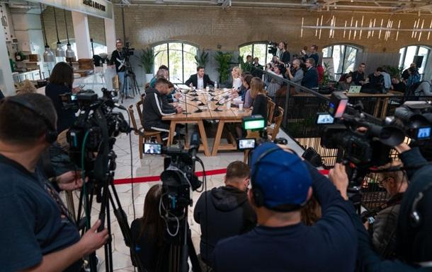 У Зеленского объяснили выбор фуд-зоны для марафона