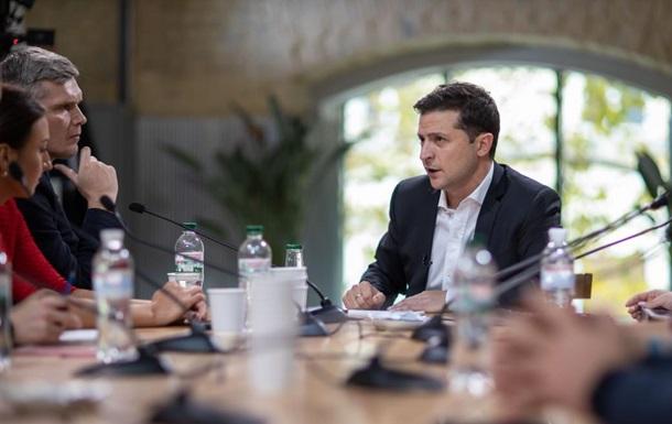Зеленский: По выборам на Донбассе есть план  Б