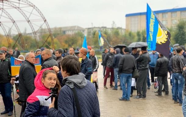 В Северодонецке шахтеры пикетируют областную администрацию