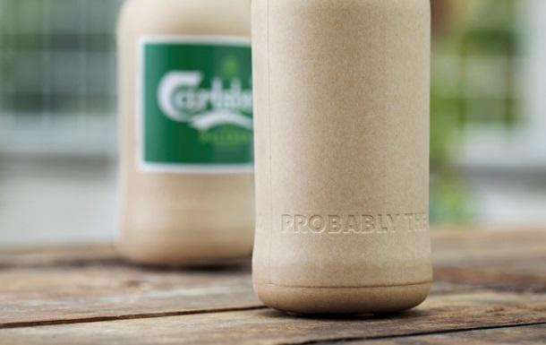 Пивная компания представила экологическую бутылку из бумаги