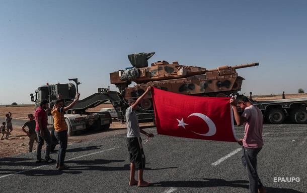Туреччина заявила про захоплення 20 міст у Сирії