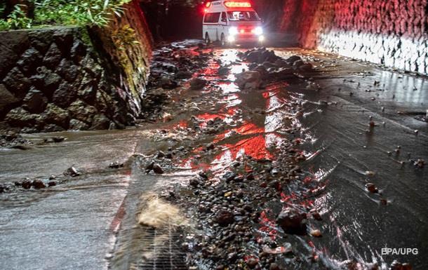 Надпотужний тайфун у Японії: двоє загиблих, 70 поранених