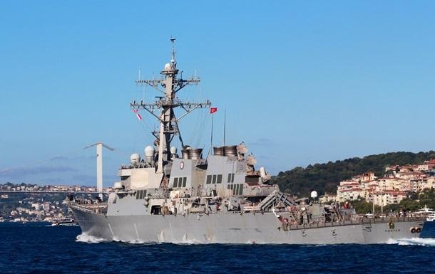 Эсминец США с ракетами зашел в Черное море