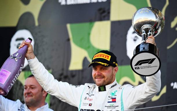 Формула-1: Боттас виграв в Японії, Феррарі вкотре провалилася