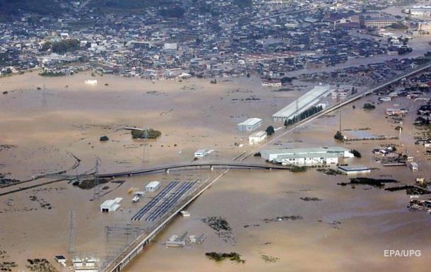 Тайфун в Японії: кількість загиблих зросла в три рази