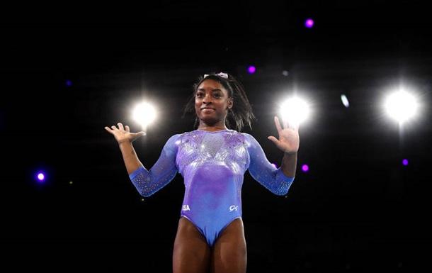 Байлз побила рекорд за кількістю медалей на чемпіонатах світу