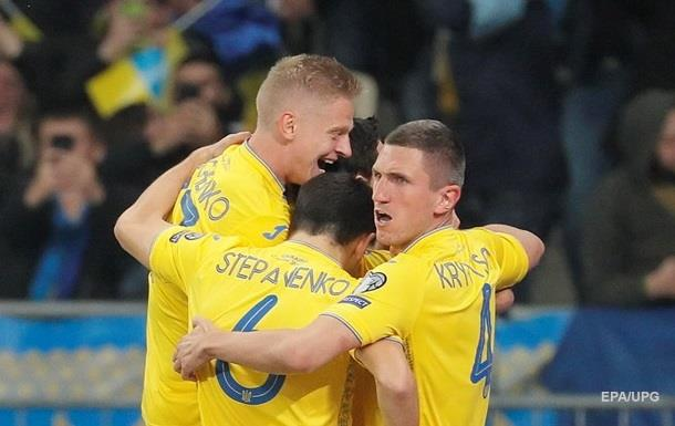 Україна - Португалія 2:1. Онлайн матчу