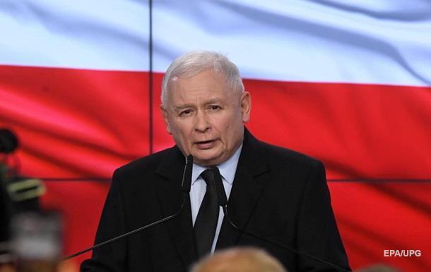 На выборах в Польше лидирует партия Качиньского