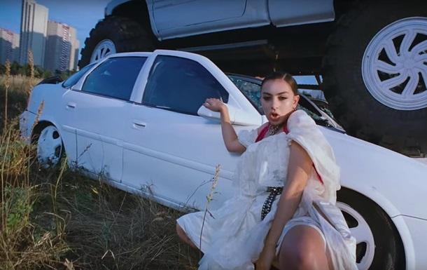 Британская звезда сняла клип на Троещине в Киеве