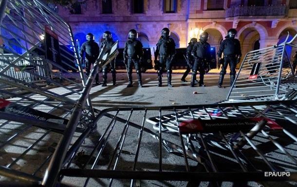 В ходе протестов в Каталонии пострадали более 50 человек