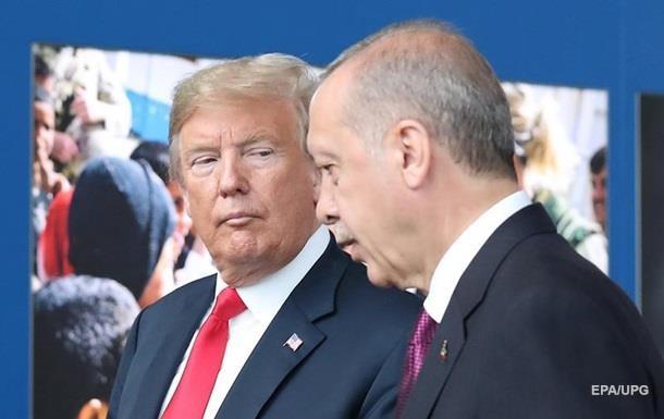 Трамп созвонился с Эрдоганом