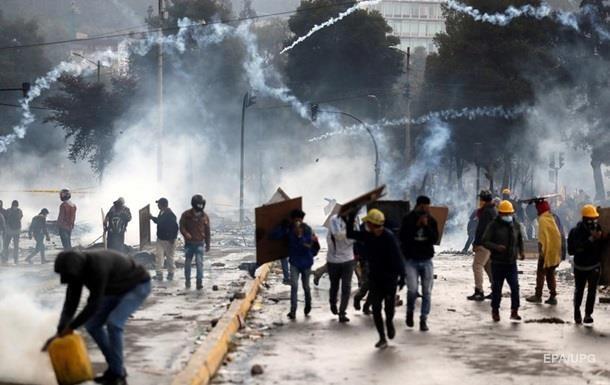 Зросла кількість жертв протестів в Еквадорі