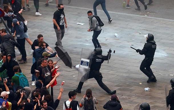 100 років тюрми сепаратистам. Протести в Каталонії