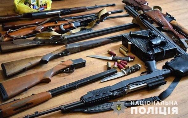 Українці здали в поліцію більш як три тисячі одиниць зброї
