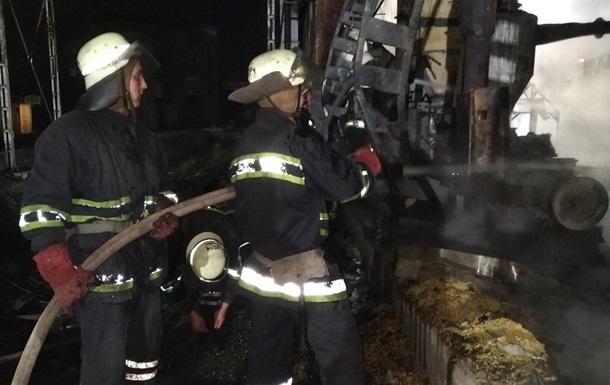 В Харькове произошел крупный пожар на пивзаводе