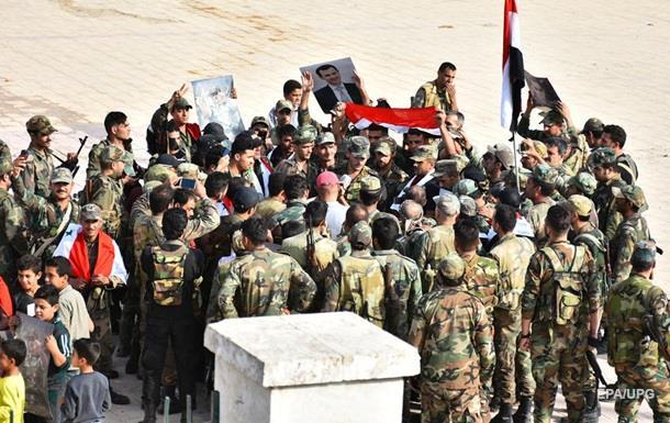 Армія Сирії вперше за п ять років увійшла в Ракку