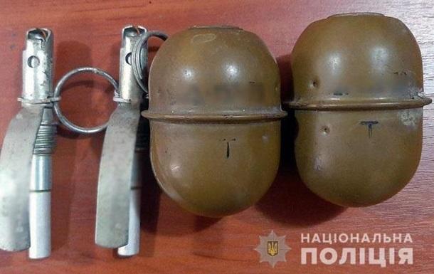 На Донеччине мужчина продавал гранаты по 500 грн