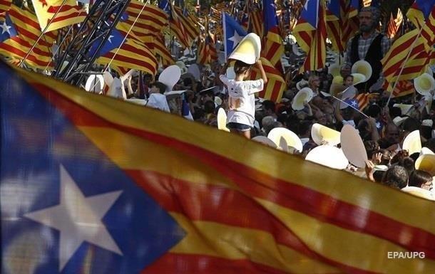 Протесты в Каталонии: заблокированы трассы и железная дорога