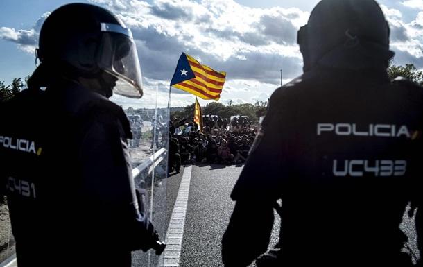 Іспанія направляє сотні спецназівців до Каталонії