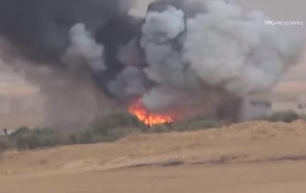 Курди зняли на відео знищення турецького танка
