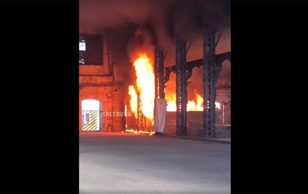 У Харкові підпалили арт-завод Механіка