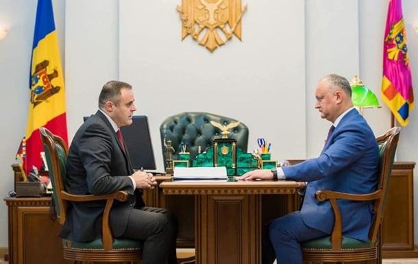 Додон заявил о договоренности насчет поставок газа в обход Украины