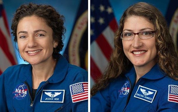 Две женщины впервые в истории вышли в открытый космос