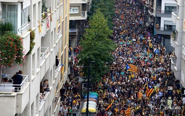 Зіткнення і страйки паралізували Барселону