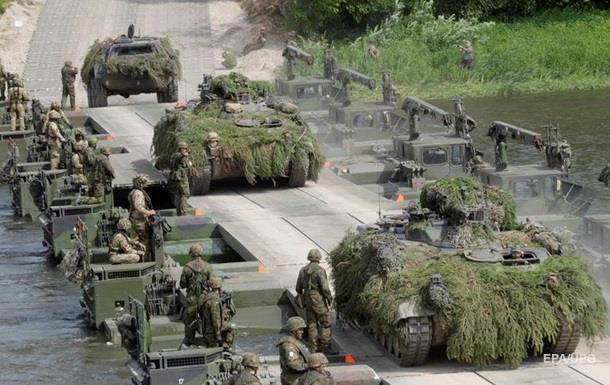 НАТО проводит учения со сценарием атомной войны