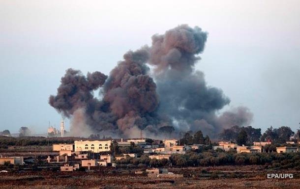 Россия нанесла авиаудары по Сирии