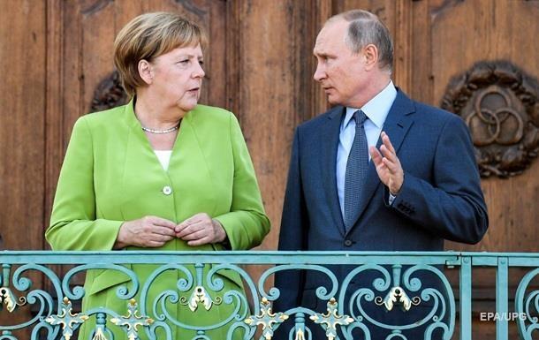 Розмова Меркель і Путіна: з явилися подробиці