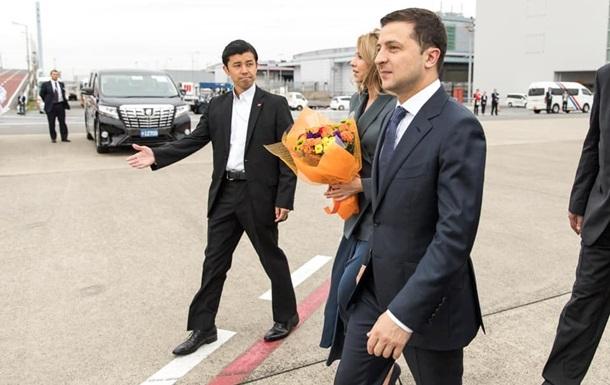 Зеленський прибув з візитом до Японії