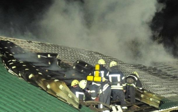 В Одесі сталася пожежа на території монастиря
