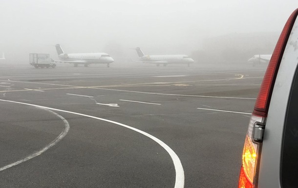 В аеропортах Києва затримуються рейси через туман