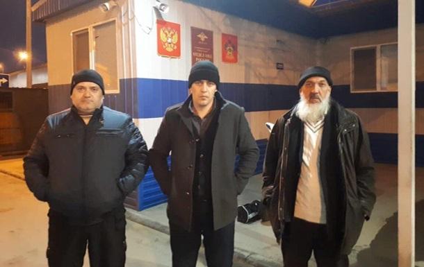 В Крыму задержали троих крымских татар