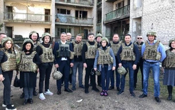 Нардепы проводят заседание комитета ВР на Донбассе