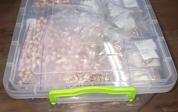 В Киеве у скупщиков изъяли более 60 кг золота