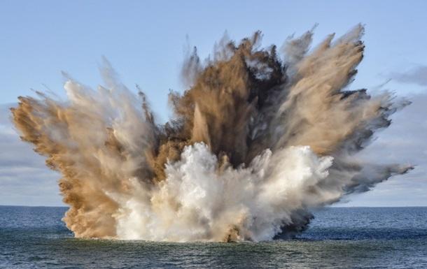 Эстонские военные взорвали торпедный катер времен Второй мировой