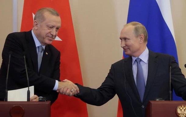 Ердоган та Путін домовилися щодо північного сходу Сирії