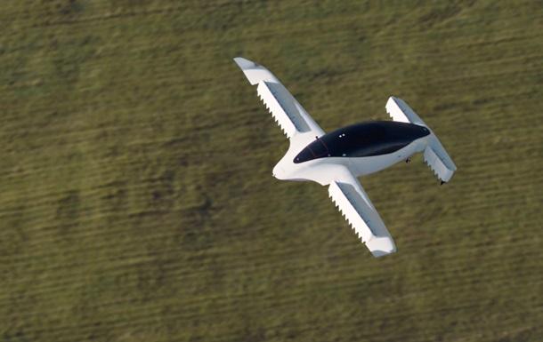 Аэротакси Lilium достигло скорости 100 км в час