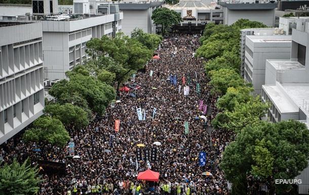 Протесты в Гонконге: власти отозвали скандальный законопроект