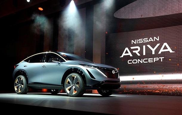 Представлен электро концепт Nissan Ariya