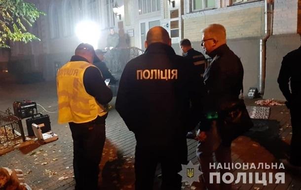 Взрыв гранаты в Киеве: появилось видео