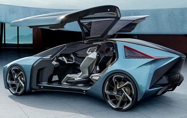Lexus представил электрический концепт LF-30 с запасом хода 500 км