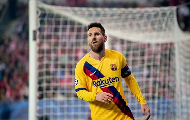 Мессі забив 33 різним клубам у Лізі чемпіонів