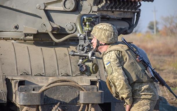Військові показали знищення позицій сепаратистів